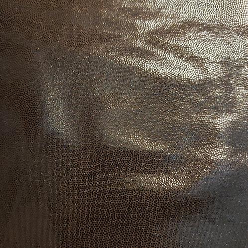 Black Sheen - Fabric Button Earrings