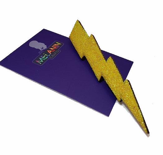 Lightening Bolt Brooch Pin