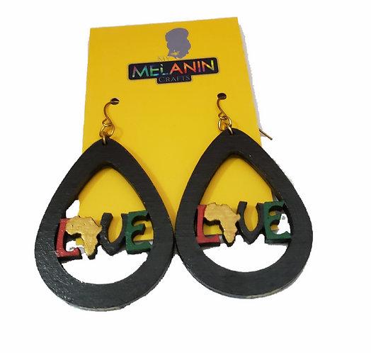 RBG Love Africa Earrings