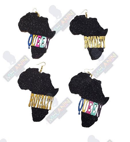 Africa Royalty or Queen Earrings