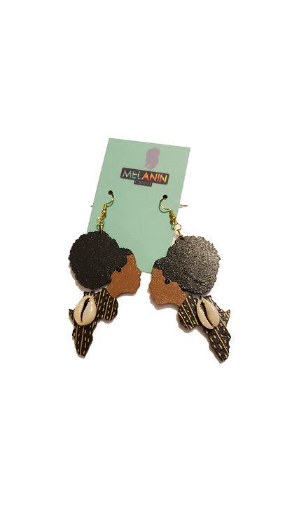 Queen of Africa Earrings