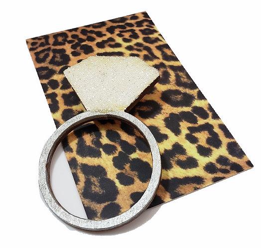 Diamond Ring Brooch Pin