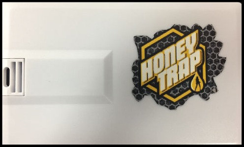 Honey Trap 2GB Card Flash Drive