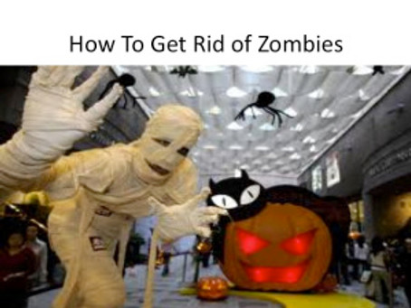 How To Get Rid of Zombies