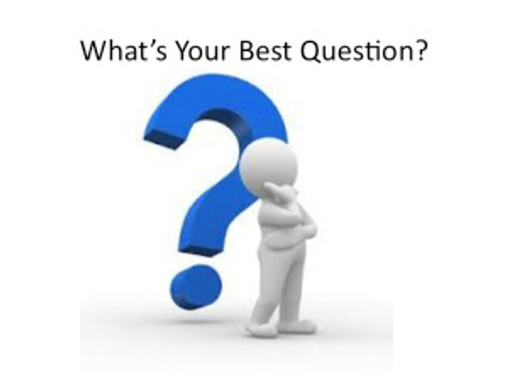 What's Your Best Question?