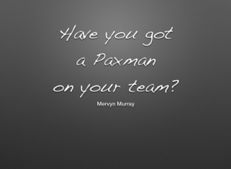 Have you got a 'Jeremy Paxman' on your team?