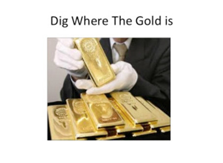Dig Where The Gold is