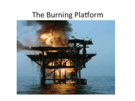 The Burning Platform