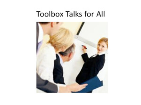Toolbox Talks for All