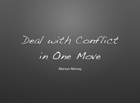 Deal with Conflict in One Move