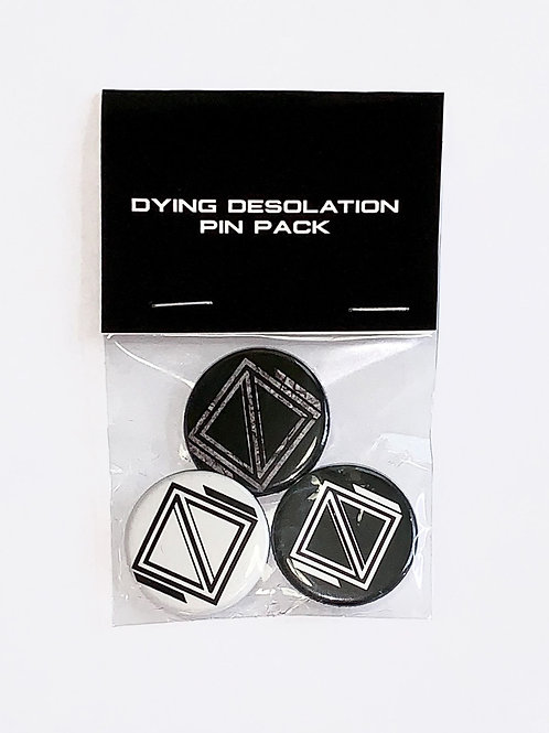 Dying Desolation Pin Pack