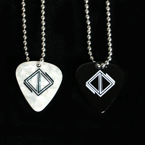 Dying Desolation Guitar Pick Necklace