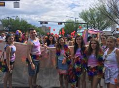 Youth Councillors at Pride Parade