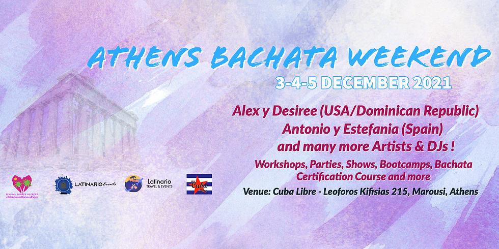 Athens Bachata Weekend 3-5 December 2021 by Latinario