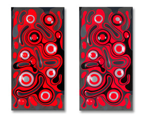 2 totems rouge