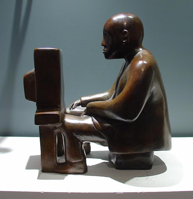 Le nouveau penseur bronze