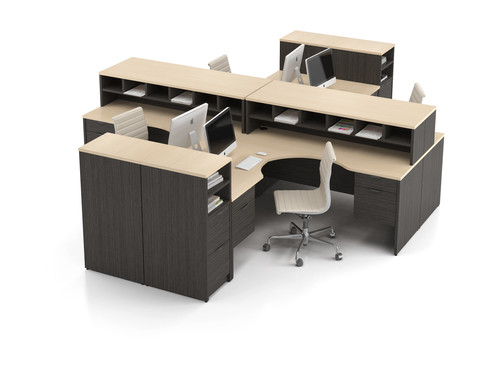 4 Person Workstation