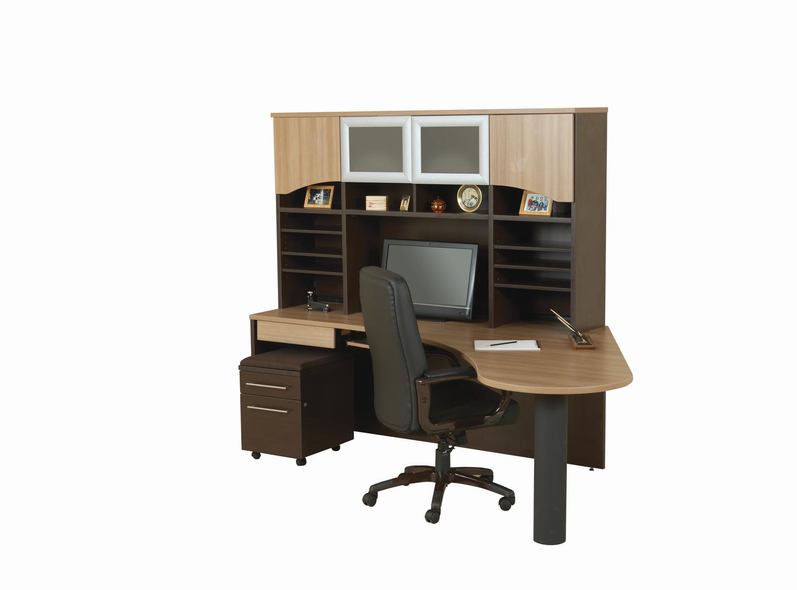 Boomerang Curve Workstation Candex Custom Furniture