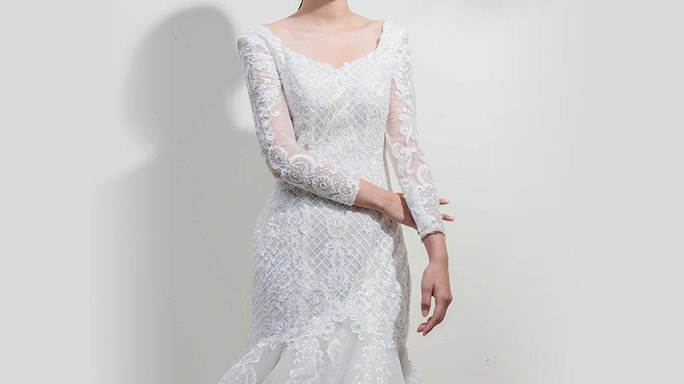 Bella-Angelina wedding設計款