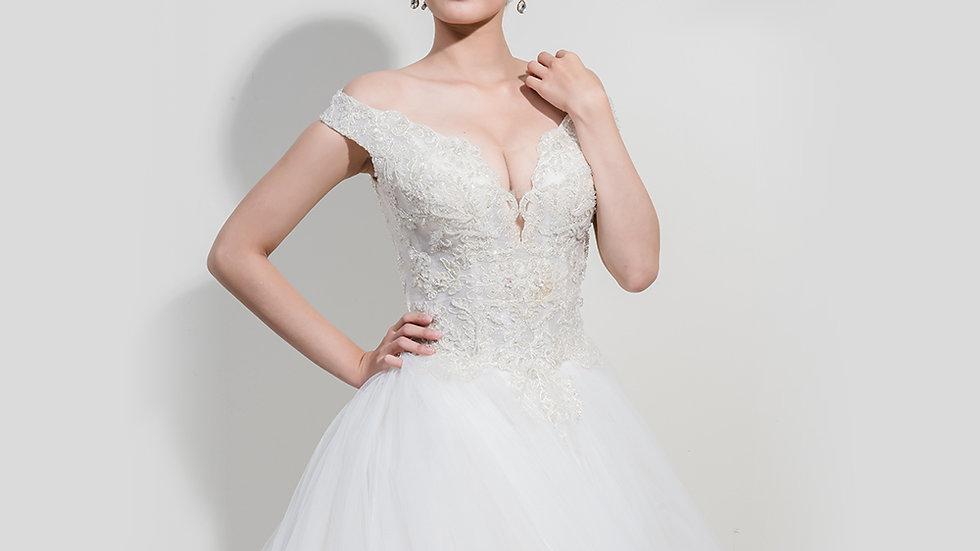 Flora-Angelina wedding設計款