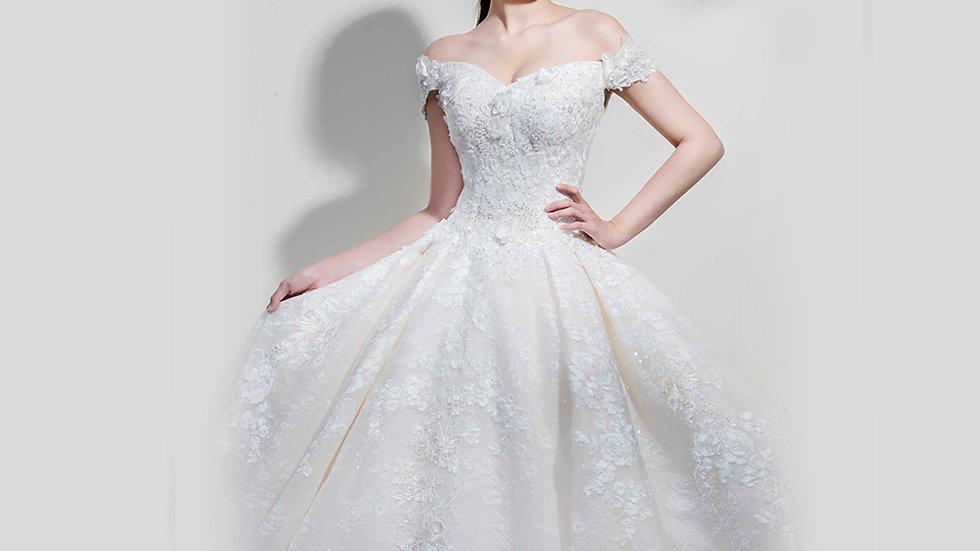 Esther-Angelina wedding設計款