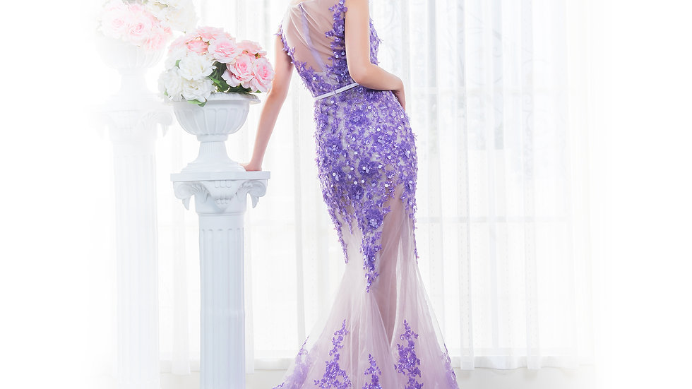 Angelina wedding設計款-Iris
