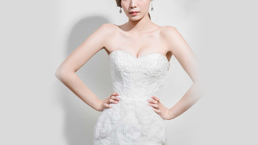 Elizabeth-Angelina wedding設計款