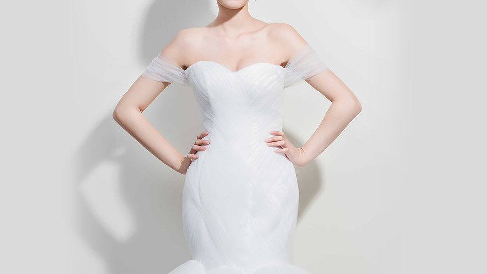 Claire-Angelina wedding設計款