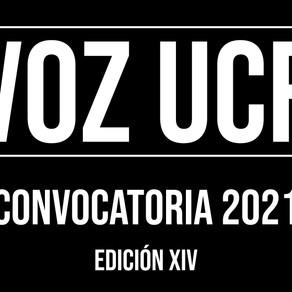 Convocatoria Voz UCR 2021