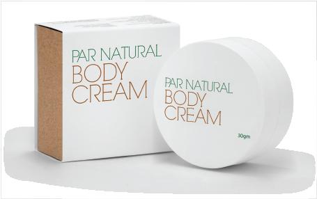 Par Natural Body Cream