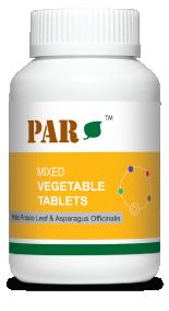 Mixed Vegetable - White Potato Leaf & Asparagus Officinails