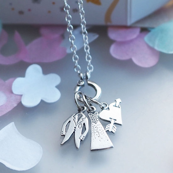 ONE SPECIAL DAY CHARM NECKLACE