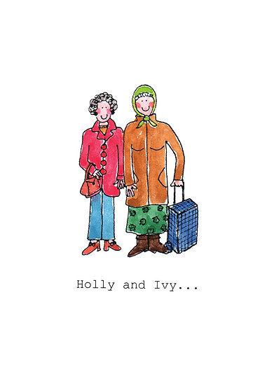HOLLY AND IVY CARD