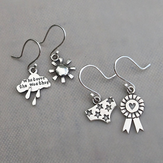 DANGLY HOOK EARRINGS