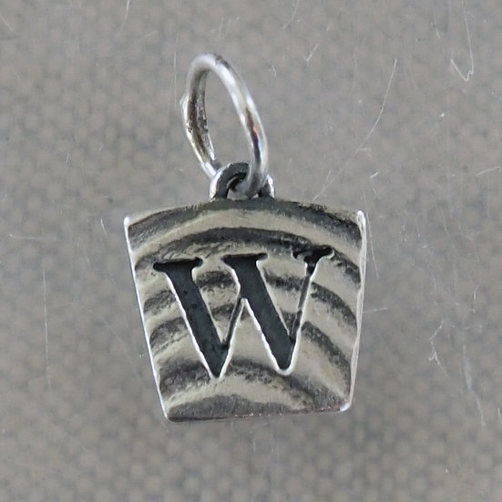 REVERSIBLE LETTER CHARM W1
