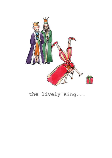 LIVELY KING CARD