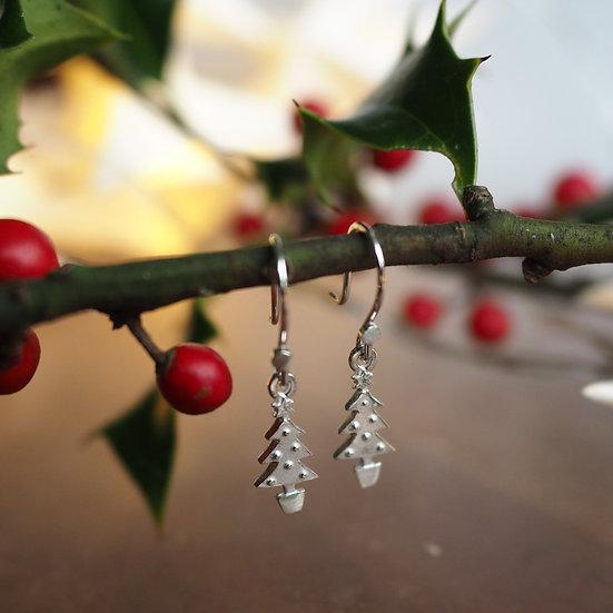 CHRISTMAS DANGLY CHARM EARRINGS
