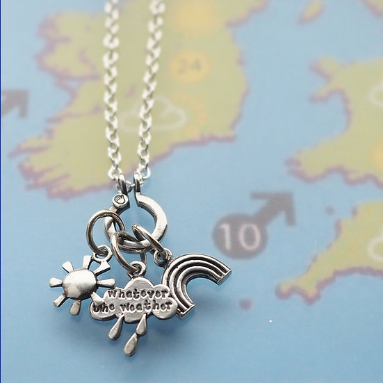 WEATHER WITH YOU CHARM NECKLACE