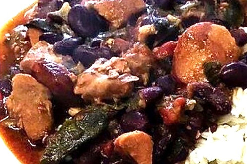 Portuguese:  Red Bean & Pork