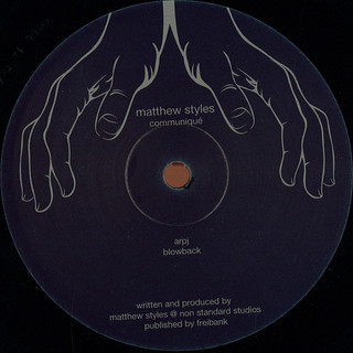 Matthew Styles - Comminuque (Tamed xtra)