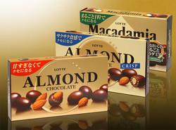 ロッテ / アーモンドチョコレート