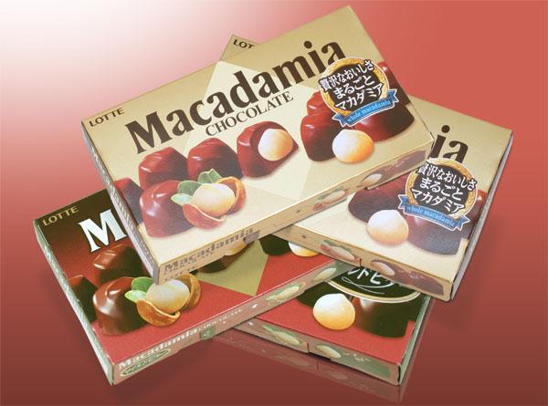 ロッテ / マカダミアチョコレート
