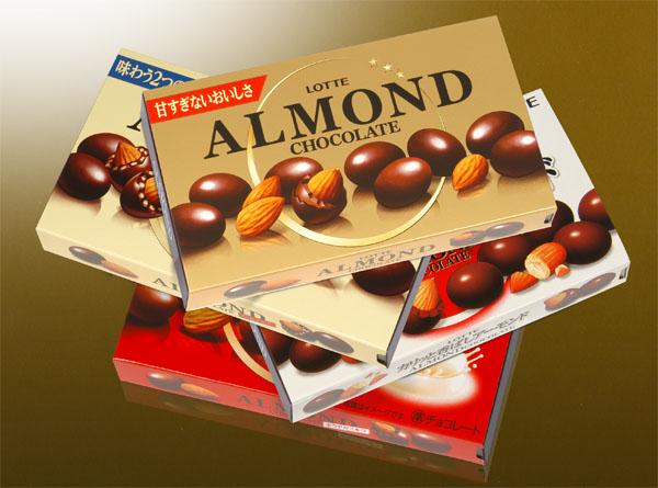 ロッテ/ アーモンドチョコレート