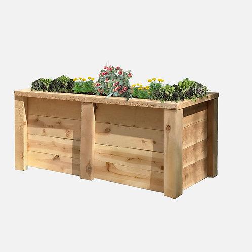 """Planter Box: 51"""" W x  27"""" D x 24"""" H"""