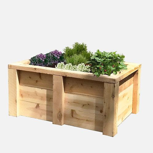 """Planter Box: 39"""" W x 27"""" D x 18"""" H"""