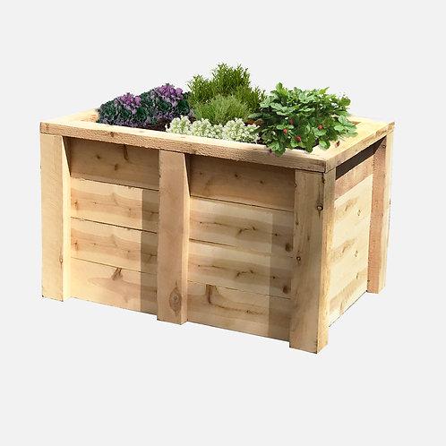 """Planter Box: 39"""" W x 27"""" D x 24"""" H"""
