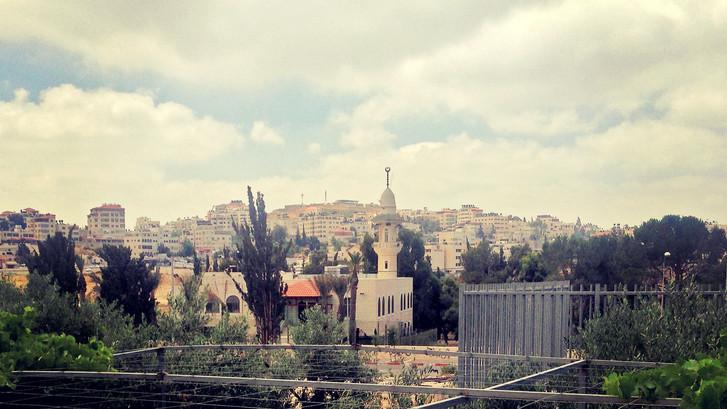 DAY 1: LONDON-TEL AVIV-JERUSALEM