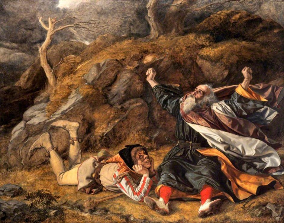 King Lear and the Fool by William Dyce
