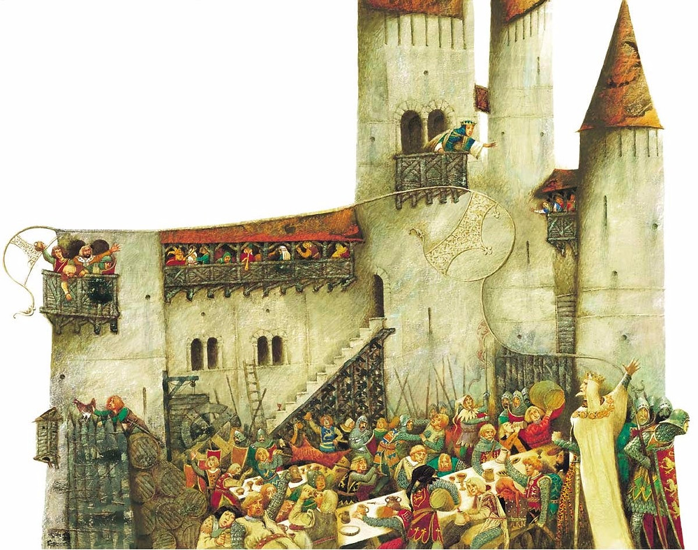Illustration: Pavel Tatarnikov's for King Lear