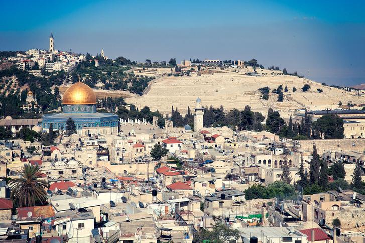 POSTCARD FROM JERUSALEM...